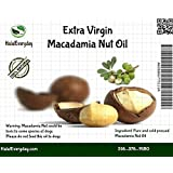 Macadamia Nuts Oil - 100% Pure and Organic 16 Oz