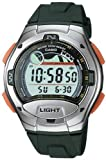 Casio Men's W753-3AV Black Resin Quartz Watch with Digital Dial