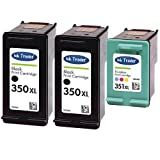2x HP 350XL & 1x 351XL Remanufactured Ink Cartridges for use with HP Photosmart C4205, C4270, C4272, C4280, C4340, C4380, C4390, C4472, C4480, C4485, C4580, C4585, C4599, C4424, C4524, C5280, C5288 & D5360 Printers by Ink Trader