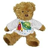 Personalised space teddy bear