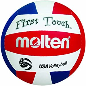 Buy Molten First Touch Fabric Youth Volleyball by Molten