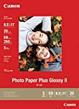 Picture Of Canon Photo Paper Plus Glossy II,  8.5 x 11 Inches, 20 Sheets (2311B001) Review