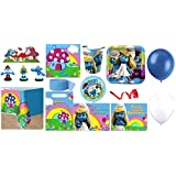 Smurfs Party Supplies for 16 Guests - Bundle 146 Pieces