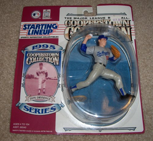 Don Drysdale: Starting Lineup Cooperstown Collection 1995