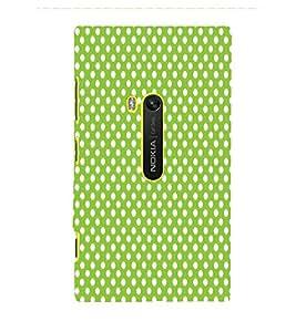 Light Green Zero 3D Hard Polycarbonate Designer Back Case Cover for Nokia Lumia 920 :: Microsoft Lumia 920