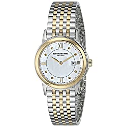 "Raymond Weil Women's 5966-STP-00995 ""Tradition"" Two-Tone Steel Watch"