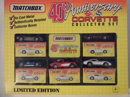 matchbox-40th-anniversary-corvette-collector-set-limited-edition-by-matchbox