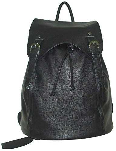 B003AK6YC0 AmeriLeather Clementi Backpack (Black)