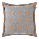 Cushion cover Misco 45x45 cm dark grey - pillow case