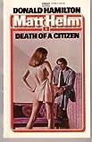 Death of a Citizen (0449127982) by Hamilton, Donald