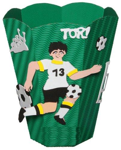 Bastelset Papierkorb – Fußball Sport Mülleimer grün Junge kaufen