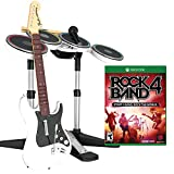 Mad Catz Rock Band 4 Band-in-a-Box Software Bundle for Xbox One - White