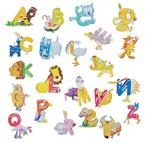 3D Alphabet Animal Puzzle - 1