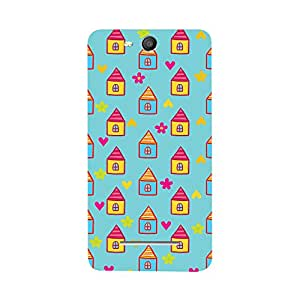 Digi Fashion Designer Back Cover with direct 3D sublimation printing for Micromax Canvas Juice 3 Q392
