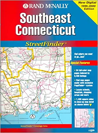 Rand McNally Streetfinder Southeast Connecticut