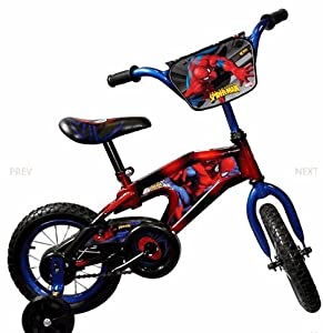 Spider-Man Bike (12-Inch Wheels) by Spider-Man
