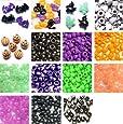 Halloween Pony Bead Kit - Plastic Beads (over 1300 beads)