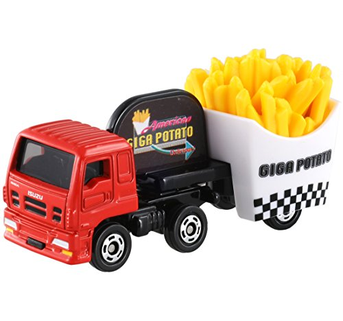 Tomica No.55 Isuzu Giga Fried Potato Car (B.p)