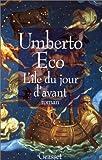 echange, troc Umberto Eco - L'Île du jour d'avant