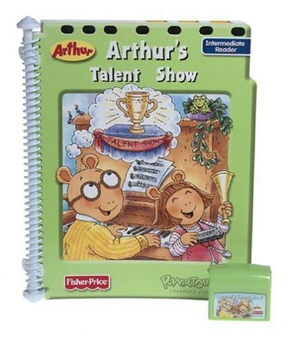 PowerTouch Arthur's Talent Show, Interactive Book & Cartridge