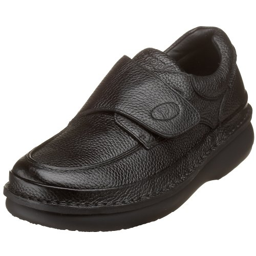 Propet Men's M5015 Scandia Strap Slip-On,Black Grain,9.5 XX (US Men's 9 EEEEE)