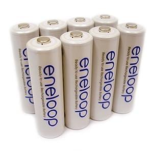Rechargeable Eneloop Batteries