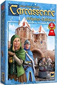 Carcassonne Board Game, Winter Edition