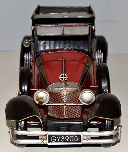 Car Vintage 1930 MB 770 K Blechauto Blechmodell Metal Tin Vintage Car Model 37957 35 CM