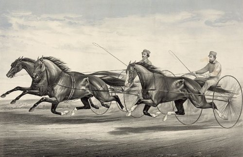 275-inch-x-2-inch-75-x-5cm-acrylic-keyring-horse-racing-and-trotting-ethan-allen-and-mate-and-dexter