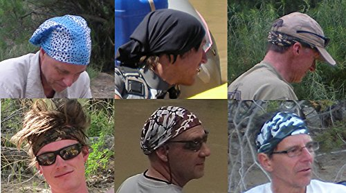 Headwear - 16-in-1 Headband to Protect You from the Sun, Wind and Dust (Starry Night)