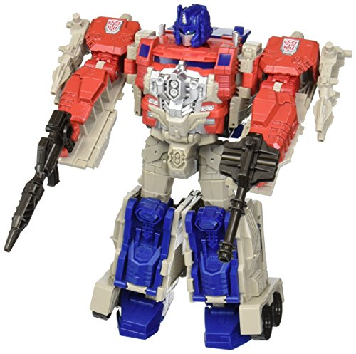 Transformers Generations Leader Powermaster Optimus Prime Action Figure - 511Y83oDnYL - Transformers Generations Leader Powermaster Optimus Prime Action Figure (Discontinued by manufacturer)