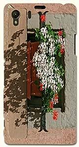 Pretty multicolor printed protective REBEL mobile back cover for Sony Xperia Z1 C6902/L39h D.No.N-R-2921-S39