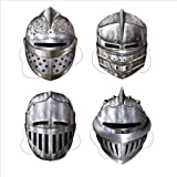Knight Masks Party Accessory (1 count) (4/Pkg)