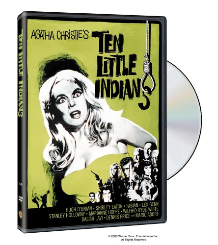 Cover art for  Ten Little Indians