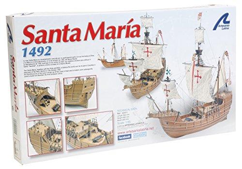 Artesania-Latina-22411-165-Santa-Maria-Wasserfahrzeuge