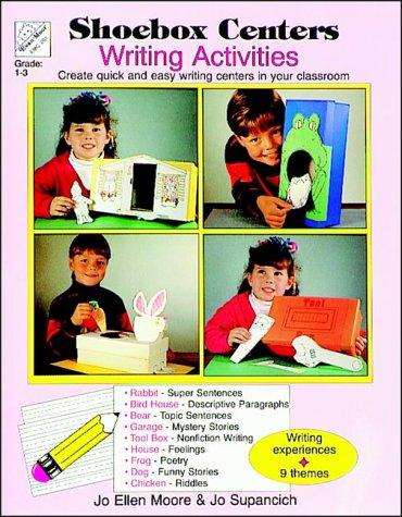 Shoe Box Centers Writing Activities: Shoe Box Centers