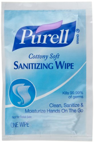 Purell 9026-1M Cottony Soft Sanitizing Wipes (Pack Of 1000) front-852348