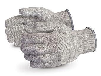 Superior SRW Raggwool Yarn String Knit Winter Glove, Work, Small, Speckled Beige (Pack of 1 Dozen)