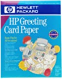 HP C1812A Quarter-Fold Greeting Cards with Envelopes (20-Count)