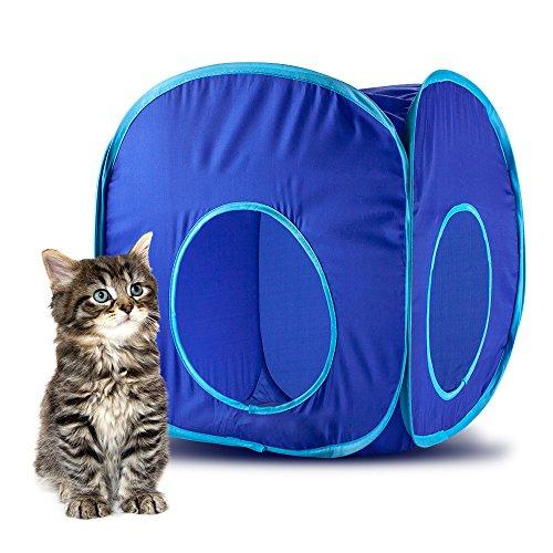Nylon Cat Cube Toy