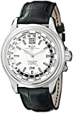 Ball Men's GM1020DL1FCAJS1 Trainmaster Analog Display Swiss Automatic Black Watch