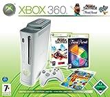echange, troc Console Xbox 360 Pro Famille (incl. Burnout Paradise Ultimate + Trivial Pursuit)