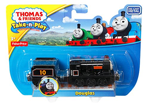 Fisher-Price Thomas the Train Take-n-Play Douglas Train