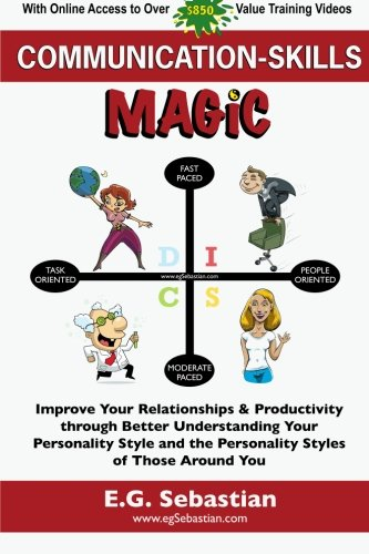 Communication Skills Magic: Improve Your Relationships & Productivity through Better Understanding Your Personality Style and the Personality Styles of Those Around You PDF