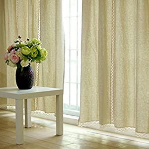 amazon com fadfay window curtain curtains for living