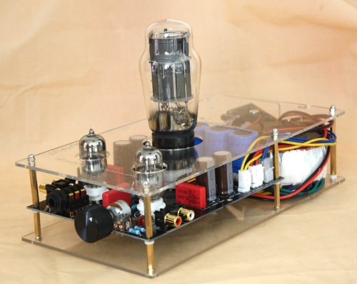 Little Bear P8 Clear Panel 6N5P 6N3 Pure Valve Tube Ocl Headphone Amplifier Amp Preamplifier