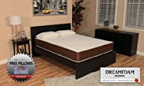 Hot Sale DreamFoam Bedding 10-Inch Memory Foam Mattress, Twin