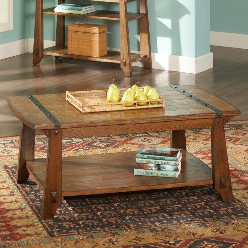 Buy Low Price Steve Silver Harrison Rectangle Oak Wood
