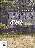 echange, troc Gérard Martzel - Les grandes lectures d'été : Un pas vers le théâtre Nô