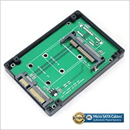 CFAST SSD Card Adapter to 2.5 Inch SATA Adapter Case Enclosure
